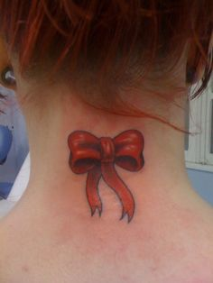 Ribbon Tattoo - 30 Cute Ribbon Tattoos for Women  <3 !
