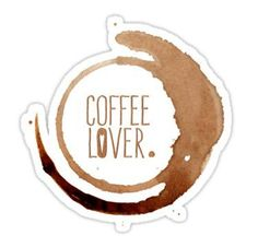 High quality Coffee gifts and merchandise. Inspired designs on t-shirts, posters, stickers, home decor, and more by independent artists and designers from around the world. All orders are custom made and most ship worldwide within 24 hours. Journal Stickers, Laptop Stickers, Planner Stickers, Coffee Gifts, Coffee Drinks, Printable Stickers, Cute Stickers, I Love Coffe, Homemade Stickers