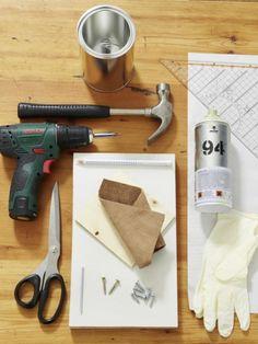 Ordnung in der Küche muss sein. Eine Besteckaufbewahrung darf daher nicht fehlen. Wir bauen einen aus günstigen Materialien einfach selbst.