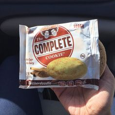 #Halloween candy was avoided this weekend thanks to @lennyandlarrys Complete Cookies. Took advantage of the @vitaminshoppe 3 for $5 sale . Ends today!  #health #fitness #fitfam #igers #photooftheday #lennyandlarrys #vitaminshoppe #protein #treat #snickerdoodle by blackfitnesstoday