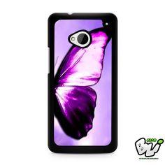 Purple Butterfly HTC G21,HTC ONE X,HTC ONE S,HTC M7,M8,M8 Mini,M9,M9 Plus,HTC Desire Case