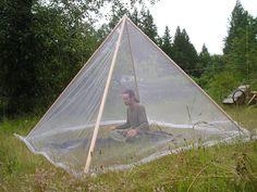 Giza Pyramid Mosquito Tent
