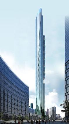 4d636e256a4493 Pentominium Building is a supertall skyscraper under construction in Dubai