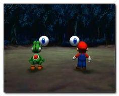 6 Bizarrely Creepy Moments From Mario's Universe