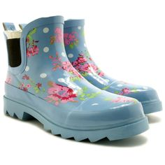 Ankle rain boots perfect for spring showers | eBay UK