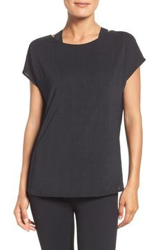 Zella Arabesque Convertible Tee available at #Nordstrom