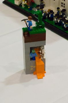 I don't understand Minecraft. Legos are Minecraft. Why don't we all just play with Legos?