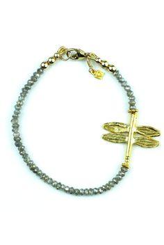 Gold Firefly Bracelet made by Cristina V.
