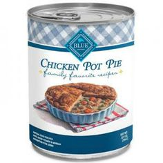 Grange Co-op: BLUE Dog Mom's Chicken Pie, a Bowlful of Comfort 12.5 oz Can