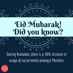Wishing our Muslim friends Ramadan Mubarak! Look out for more fun facts on our social media platforms this whole week!