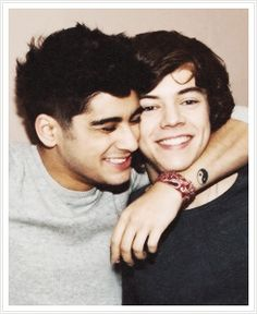 I don't know, man, I'm just in a Zarry mood today. Zarry may be one of my favorite BROmances.