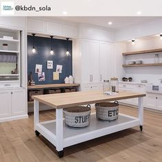 "CONGRATS! To Laurie for placing second in ""Best Specialty Project"" in the first #KBDA @kbdn_sola #designcompetition! We love the 10th street project for its multi use functionality and clean beachy aesthetic! REPOST! from @kbdn_sola - This #unique ""multi-use crafts room"" in Santa Monica, CA, is the #silver #winner in the"