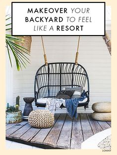 Porch Swing with Stand by Abba Patio . Porch Swing with Stand by Abba Patio . Abba Patio 2 Person Outdoor Porch Swing Hammock with Steel Style At Home, Outdoor Rooms, Outdoor Living, Outdoor Decor, Outdoor Ideas, Outdoor Kitchens, Interior And Exterior, Interior Design, Design Interiors
