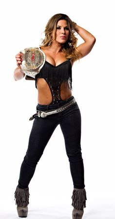 Mickie James is balancing being a mom, a singer and still doing some wrestling
