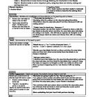 Common Core Reading and Writing Workshop Unit Mini-lesson Unit Title: Readers Build Good Habits Through Meeting the Characters in Our BooksScri...