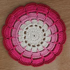 Shades of Pink Doily / Coaster