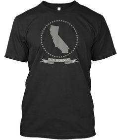 California  shirt with classic design, 50 stars and shape of state. For all Golden State lovers. Buy your California shirt, longsleeve, hoodie or tank NOW  #california #cali #westcoast #goldenstate #losangeles #la #sanfrancisco #sandiego #wordcloud #shirts #fashion #lifestyle #hollywood
