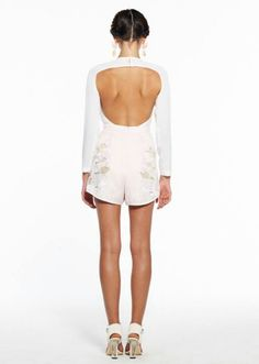Alice McAll - Back view of pink & white jumper...love it!