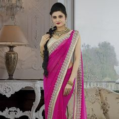 #Chiffon #Saree with Blouse