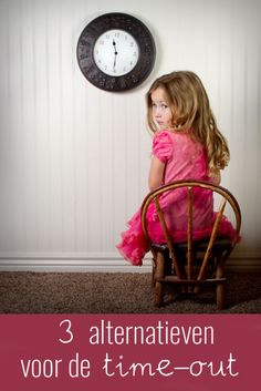 Is een time-out echt de beste manier om ongewenst gedrag om te buigen naar gewenst gedrag? Ik geef je graag drie mogelijke alternatieven!