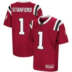 Stanford Cardinal Colosseum Youth Foos-Ball Football Jersey – Cardinal 95148672c