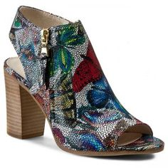 Sandály | www.eObuv.cz Heeled Mules, Peeps, Tommy Hilfiger, Peep Toe, Wedges, Model, Butterfly, Shoes, Fashion
