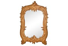 Syroco Wood Draper-Style Mirror on OneKingsLane.com I have an identical companion mirror