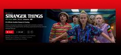 Neflix stranger things have built a lot of fan base over the years with previous season thrilling viewers. Alot of viewers are totally hyped up Stranger Things Netflix, Stranger Things Season, Wiona Ryder, Jonathan Byers, Duffer Brothers, Nancy Wheeler, Game Of Thrones Series, National Laboratory