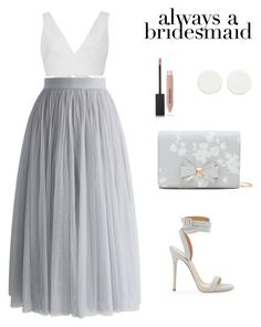 """""""#alwaysabridesmaid"""" by meli-g35 ❤ liked on Polyvore featuring Kalita, Chicwish, Ted Baker, Burberry and alwaysabridesmaid"""