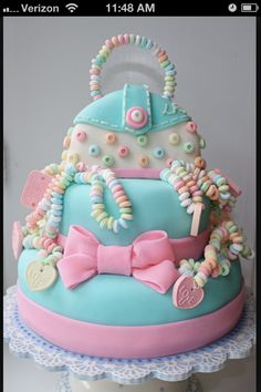 This cake is so cute.