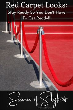 Photo about Portable Barrier for Queue Control. Red security rope by red carpet. Image of elegant, fence, rope - 6674281 Red Carpet Ready, Red Carpet Looks, Suit Fashion, Daily Fashion, Business Casual Men, Men Casual, Dress Up Outfits, Michael Kors Collection, Red Carpet Fashion