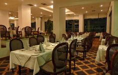"Esperia Restaurant at Grecian Bay Hotel Cyprus - Located at the Ground floor of the hotel, Esperia restaurant is the place to have your ""last"" meal of the day. You can select from our tempting ""a la carte"" menu to the splendid themed buffets while enjoying your favourite wine."