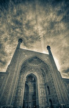"""""""Light & Art"""" by Ali KoRdZaDeh on 500px ~ Grand Mosque, longest standing mosque in Iran"""