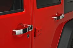 NEW Rampage Products Door Handles. These handles can be used as a replacement for all JK factory doors including tailgate. Installation is easy without drilling. Sold each.