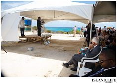 The ground breaking ceremony for the Greathouse at Sailrock Development on South Caicos. www.islandlifeandtimes.com #turks #caicos #turksandcaicos