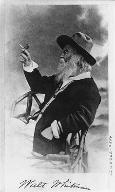 """I believe a leaf of grass is no less than the journey-work of the stars."" —Walt Whitman, born June 5, 1819"