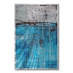 All My Walls 'Lithosphere 12' by Hilary Winfield Painting Print Plaque