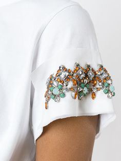 Twin-set Embellished T-shirt - Boutique Tricot - Farfetch.com