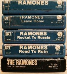 The first 5 releases. The best stuff they ever put out, IMO. I wasn't crazy about I felt that was out of touch with the true Ramones sound & it showed on the album. They lost their edge during that particular period in time. Family Tumblr, Beatles, Rocket To Russia, 8 Track Tapes, Punks Not Dead, Out Of Touch, H & M Home, Psychobilly, The Clash