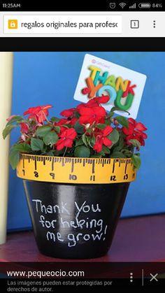 Maceta:gracias por ayudarme a crecer