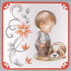 Y Jongentje met hond