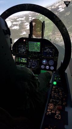 F-18 simulator, F/A-18 Superhornet based on Prepar3d + TacPack + Superbug