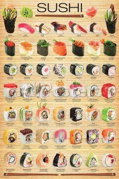 L'art Du Sushi, Sushi Art, Sushi Food, Dessert Sushi, Sushi Dishes, Vegan Sushi, Cooking Tips, Cooking Recipes, Cooking Classes