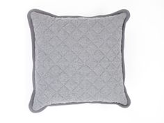 Quilted Cashmere Cushion | Nuttall