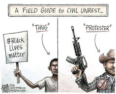 Media Literacy: how protestors are portrayed #blacklivesmatter