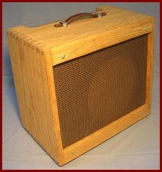 Dovetailed Pine replacement cab for Fender Blues Junior Jr amp $169
