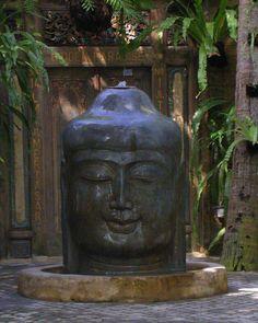 Buddah fountain.....