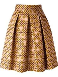 African print skirt, pleated midi skirt ~ African fashion, Ankara, kitenge, Kent… Remilekun - African Styles for Ladies African Print Skirt, African Print Dresses, African Print Fashion, African Inspired Fashion, Africa Fashion, African Dress, African Prints, African American Fashion, Ghanaian Fashion