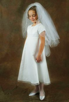 Miss Stacie - baptism dress for addy