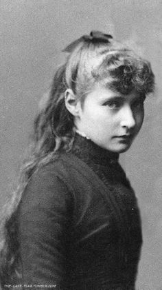 Young and very charming and beautiful Princess Alix of Hesse (later Tsarina Alexandra of Russia) - my edition.
